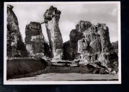 N1873 Nationalheiligtum Externsteine - Teutoburgerwald - Vorderansicht - 19 AUG. 1938 - Germania