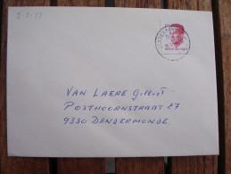 RARE DATUM : 8-8-88 Dendermonde OCB Nr 2203 Velghe - 1981-1990 Velghe