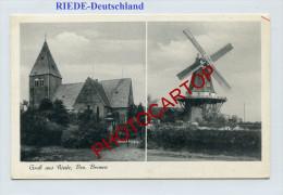 MOULIN A VENT-WINDMÜHLE-Gruß Aus RIEDE-Deutschland- - Moulins à Vent