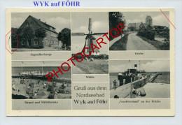 MOULIN A VENT-WINDMÜHLE-WYK Auf FÖHR-Deutschland-1956- - Windmolens