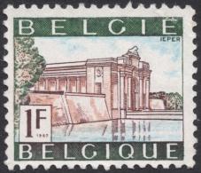 Belgium, 1 F. 1967, Sc # 643, Mi # 1481, Used - Used Stamps