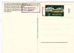 Bahnhofstempel 1964 Gare Expo CFF (o006) - Railway