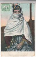 CPA Egypte, Dame Habillé En Vêtements Typique (pk28598) - Egypt