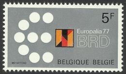 Belgium, 5 F. 1977, Sc # 998, MH - Unused Stamps