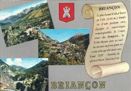 PACA - 05 - HAUTES ALPES - BRIANCON - CPSM GF Couleur -Multivues - Briancon
