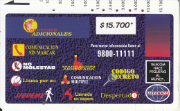 COLOMBIA(Tamura) - Montage Of Services 3($15700), Tirage 10000, Used - Colombia