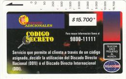 COLOMBIA(Tamura) - Codigo Secreto 3($15700), Tirage 10000, Used - Colombia