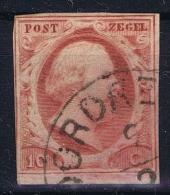 Nederland: NVPH Nr 2, Gebruikt Used   1852 - Periode 1852-1890 (Willem III)