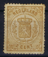 Nederland: NVPH Nr 17 Not Used (*) SG Geen Gom  1869 - Ongebruikt