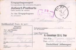 Stalag XII D  Germany WWII WW2 POW Prisoner Of War Censorship Censuur Geprüft Kriegsgefangenenpost FREE SHIPPING - Allemagne