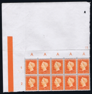 Dutch East Indies  NVPH 347 In Corner Block With Printer Mark / Knip    MNH/**
