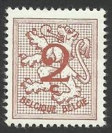 Belgium, 2 C. 1960, Sc # 403, MH - 1951-1975 Heraldic Lion