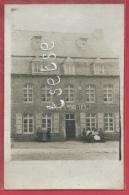 Cerfontaine - Hôtel Giar - Façade - Document Unique, Carte-photo - 1908  ( Voir Verso ) - Cerfontaine