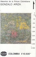 COLOMBIA(Tamura) - Frondosidad, Painting/Gonzalo Ariza, Tirage 10000, Used - Colombia