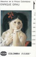 COLOMBIA(Tamura) - La Cayetana, Painting/Enrique Grau, Tirage 22000, Used - Colombia