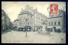 Cpa Du 50 Cherbourg La Place Briqueville  DEC15 13 - Cherbourg