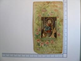 Santino Image Pieuse Holy Card - LA Vergine Del Rosario Di Pompei - Images Religieuses