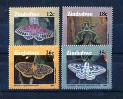 Zimbabwe 1986. Yvert 118-21 **  MNH. - Zimbabwe (1980-...)
