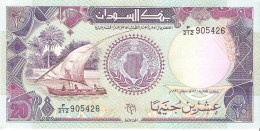 Sudan - Pick 47 - 20 Pounds 1991 - Unc - Sudan