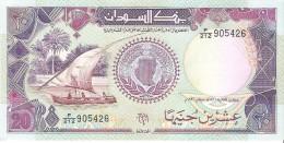 Sudan - Pick 47 - 20 Pounds 1991 - Unc - Soudan
