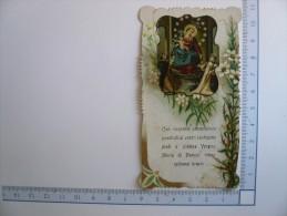 Santino Image Pieuse Holy Card - Vergine Maria Di Pompei - Images Religieuses
