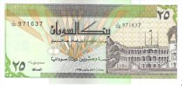 Sudan - Pick 53 - 25 Dinars 1992 - Unc - Soudan