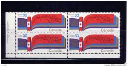 CANADA 1982, # 916, NEW CONSTITUTION,   BLOCK  MNH   LL - Blocs-feuillets