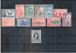 Petit Lot De 12 Timbres De Sarawak - Obl/gest/used (à Voir) - Malaysia (1964-...)