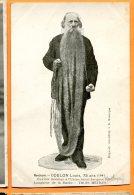 JUL111, Montluçon, Louis Coulon, Ouvrier Mouleur Usine Saint-Jacques, Barbe De 3 Mètres, Précurseur, Non Circulée (1901) - Hommes
