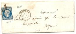Gers - Condom - PC + CàD Type 15 - 1849-1876: Classic Period
