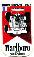 Autocollant : Marlboro Team Mc Laren - Dijon-Prenois 1977 - Stickers