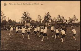 BELGIUM - PLAINE DE JEUX DE SAINTE-JOSSE-TEN-NOODE - VOLLEYBALL - Volleyball