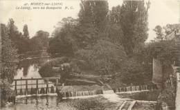 77 - MORET-sur-LOING - Le Loing, Vers Les Remparts - Moret Sur Loing