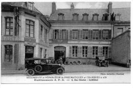 CAMBRAI-Etab  A. F. A.Regommage-rèparation De Pneux-et Cafè Restaurant De La S/Prèfecture - 6 Rue Fénelon - - Cambrai