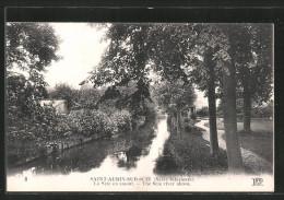 CPA Saint-Aubin-sur-Scie, Le Scie En Amont - Non Classés