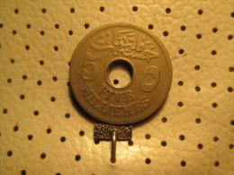 EGYPT 5 MILLIEMEs 1916 # 3 - Egypt