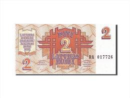 Latvia, 2 Rubli, 1992, KM:36, 1992, NEUF - Lettonie