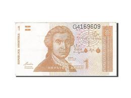 Croatie, 1 Dinar, 1991-1993, KM:16a, 1991, TTB - Croatie