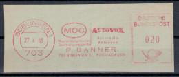 Germany Deutschland 1965 MOC, AUTOVOX, P. DANNER, Radio Technik, Boblingen - Sin Clasificación