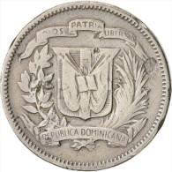 Dominican Republic, 5 Centavos, 1961, KM:18 - Dominicaine