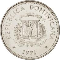 Dominican Republic, 25 Centavos, 1991, KM:71.1 - Dominicaine
