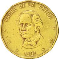 Dominican Republic, Peso, 1991, KM:80.1 - Dominicaine