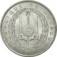 Monnaie, Djibouti, 5 Francs, 1977, Paris, SUP, Aluminium, KM:22 - Djibouti