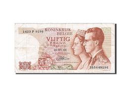 Belgique, 50 Francs, 1964-1966, KM:139, 1966-05-16, TB+ - [ 2] 1831-... : Royaume De Belgique