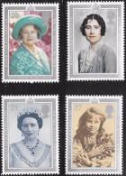 Great Britain Scott  1327-30 Queen Mother Mint NH  VF   CV 4.70 - 1952-.... (Elizabeth II)