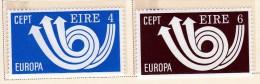 Ireland Scott  320-21 Europa '73 Mint NH VF   CV  5.25 - 1949-... Republic Of Ireland