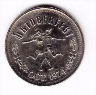 1974 Kitchener-Waterloo $1 Oktoberfest Token - Canada