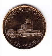1993 Kitchener-Waterloo $2 Oktoberfest Token - Canada