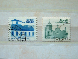 Brazil 1986 - Scott # 2071-2072 = 4.10 $ - Church - Brazil