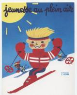 MORVAN  ILL 197   / KOUPER  /  JEUNESSE AU PLEIN AIR  1986  / SKI   CPM / CPSM  10X15 - Morvan
